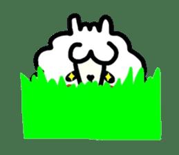 Alpaca of drooping eyes(Reaction series) sticker #842076