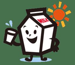 Milk chan sticker #842679