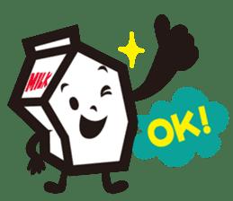 Milk chan sticker #842680