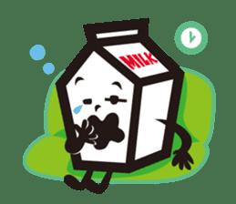 Milk chan sticker #842681