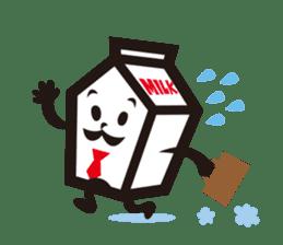 Milk chan sticker #842689