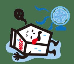 Milk chan sticker #842696