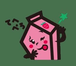 Milk chan sticker #842704