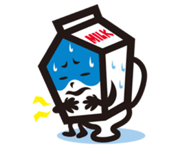 Milk chan sticker #842710