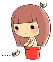 Plant Girl sticker #842825