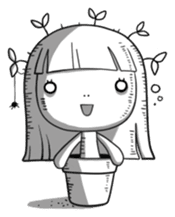 Plant Girl sticker #842826