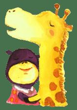 9cm Zoo sticker #842970