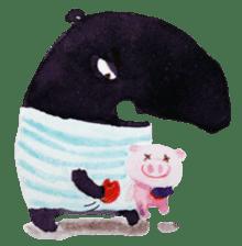 9cm Zoo sticker #842975