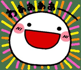 white heart sticker #843567