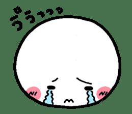 white heart sticker #843597
