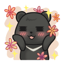 Q Meng Kee - Formosan black bear sticker #843686