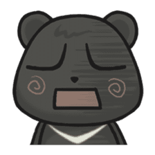 Q Meng Kee - Formosan black bear sticker #843694