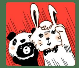 Michael and Panda bear sticker #844659