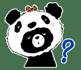 Michael and Panda bear sticker #844660