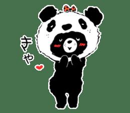 Michael and Panda bear sticker #844663