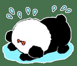 Michael and Panda bear sticker #844667