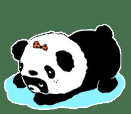 Michael and Panda bear sticker #844668