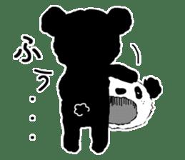 Michael and Panda bear sticker #844669