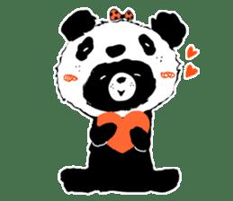 Michael and Panda bear sticker #844672