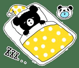 Michael and Panda bear sticker #844676