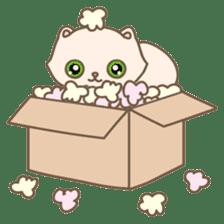 Cats in Box sticker #844726