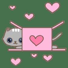 Cats in Box sticker #844729