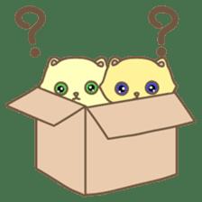 Cats in Box sticker #844732