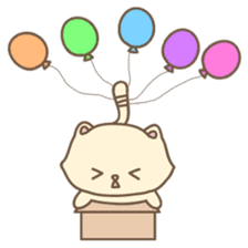 Cats in Box sticker #844741