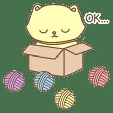 Cats in Box sticker #844757