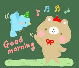 Bear Cub with friends sticker #845399