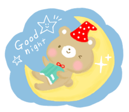 Bear Cub with friends sticker #845401