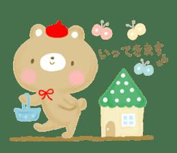 Bear Cub with friends sticker #845403