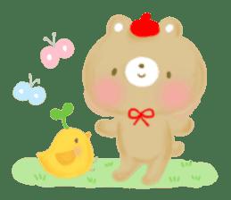 Bear Cub with friends sticker #845407