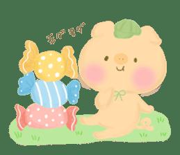 Bear Cub with friends sticker #845408