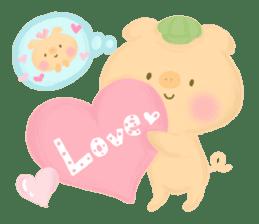 Bear Cub with friends sticker #845414