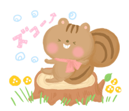 Bear Cub with friends sticker #845415