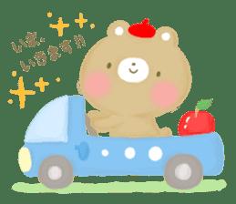 Bear Cub with friends sticker #845419