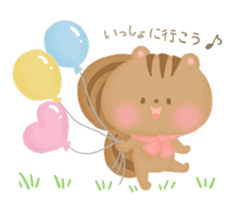 Bear Cub with friends sticker #845422