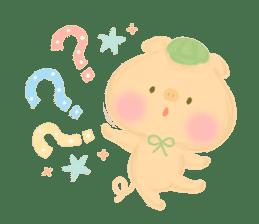Bear Cub with friends sticker #845423