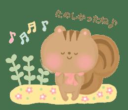 Bear Cub with friends sticker #845434