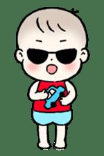 A baby waring sunglasses (English) sticker #845441