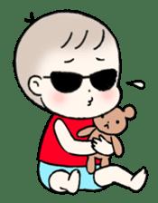 A baby waring sunglasses (English) sticker #845446
