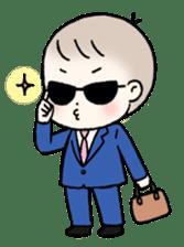 A baby waring sunglasses (English) sticker #845464