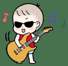 A baby waring sunglasses (English) sticker #845478