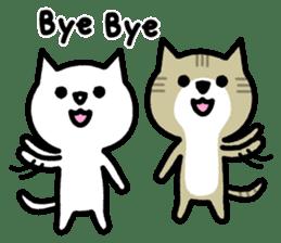 Friendly Cat sticker #845618