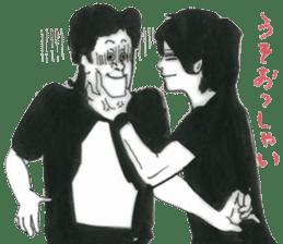 nagareboshi  Japanese famous Comedians sticker #845959