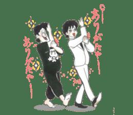 nagareboshi  Japanese famous Comedians sticker #845960