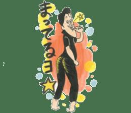 nagareboshi  Japanese famous Comedians sticker #845972