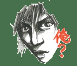 nagareboshi  Japanese famous Comedians sticker #845977