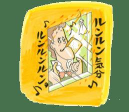 nagareboshi  Japanese famous Comedians sticker #845979